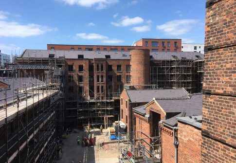 Luxury Apartments in Manchester, Ancoats. Historical Refurbishment Project